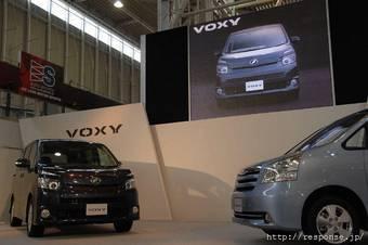 В Японии объявлен отзыв более 600 тысяч минивэнов Toyota Voxy и Toyota Noah.