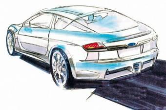 Как заявляет Autocar, это изображение является эскизом, по которому будет создан дизайн модели совместной разработки Subaru и Toyota.