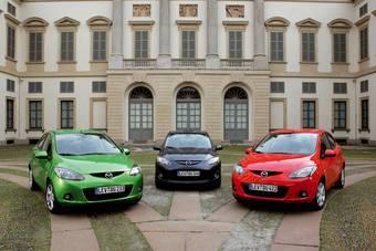 Стоимость Mazda2 в России начинается от 424 000 руб.
