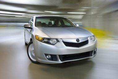 В Штатах начинается продажа нового поколения Acura TSX (Honda Accord)