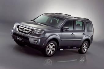 Honda Pilot поступит на российский рынок в конце лета или начале осени 2008 года.