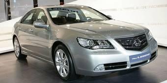 Обновленная модель Honda Legend дебютировала на автошоу в Пусане.