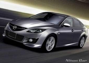 Примерно вот так будет выглядеть Mazda Atenza Mazdaspeed и ее европейский аналог Mazda6 MPS.
