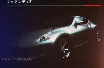 Появились первые детали нового спорт-кара Nissan 370Z (Nissan Fairlady Z в кузове Z34).