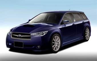 В Subaru считают, что дизайн нового поколения Legacy разделит мнение покупателей на два лагеря. Это изображение демонстрирует, на что может быть похож новый автомобиль.