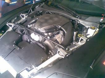 5,0-литровый 500-сильный V10 двигатель Lexus LF-A.
