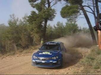Вчера состоялся дебют раллийного болида Subaru Impreza WRC 2008.