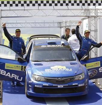 Команда Subaru WRC с успехом продемонстрировала возможности новой раллийной версии Subaru Impreza в Греции.