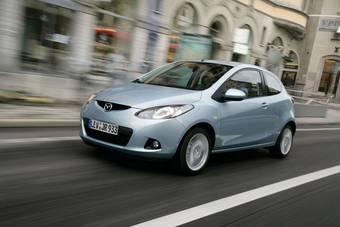 В Европе теперь продается Mazda2 в трехдверном кузове.