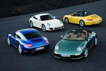 Новое поколение Porsche 911 — четыре новые модели с новыми двигателями, коробками передач и улучшенным дизайном.