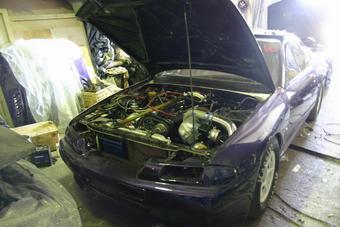 Один из лучших драговых автомобилей России сгорел во время недавних соревнований. (Так автомобиль выглядел буквально пару дней назад).