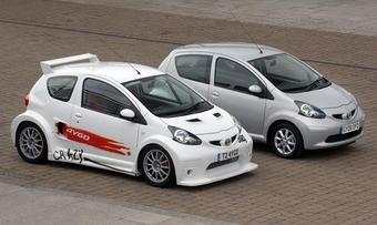 Toyota представила особый спорт-кар Aygo Crazy, официальная премьера которого состоится в Лондоне на международном автошоу.
