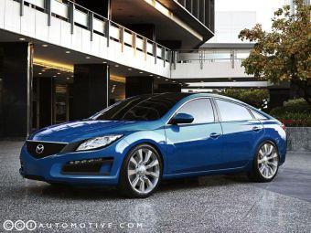 Mazda9. Это изображение никакого отношения к дизайнерам компании Mazda не имеет.