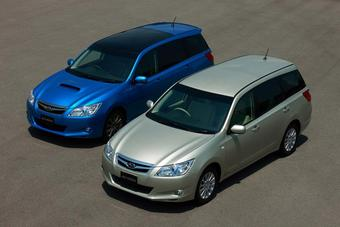 В Японии начались продажи автомобилей Subaru Exiga.