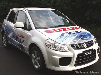 Suzuki сделала водородный хэтчбэк-кроссовер Suzuki SX4.