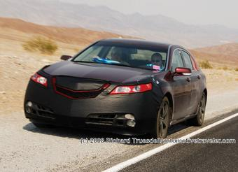 Четвертое поколение Acura TL готово к премьере.