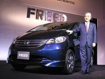 Honda Freed практически взорвал японский автомобильный рынок.