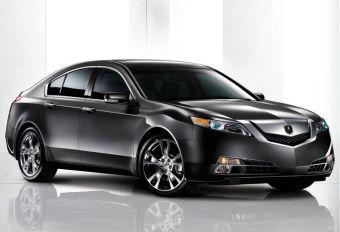 Новое поколение Acura TL будет оснащаться системой полного привода.