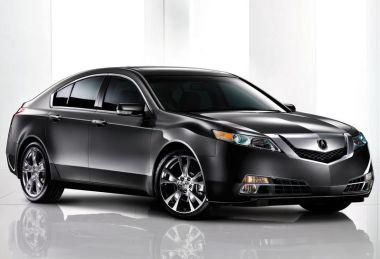 Honda демонстрирует новое поколение Acura TL и обещает выход полноприводной версии седана