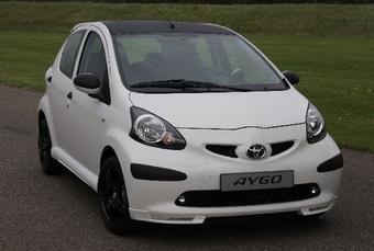 Toyota Aygo Xposed. Предлагается только в белом цвете.