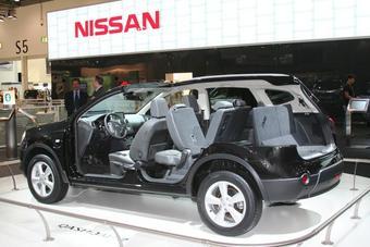 Nissan Qashqai+2 был официально представлен в Лондоне.