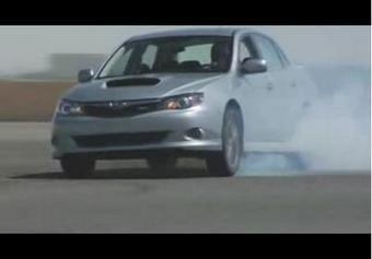 Subaru Impreza WRX 2009 модельного года для рынка США.