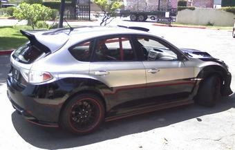 Subaru Impreza WRX STI из 4 серии «The Fast and the Furious».