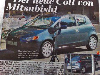 Компания Mitsubishi планирует обновление модели Colt осенью этого года.