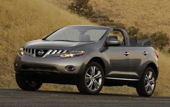 Nissan Murano в кузове кабриолет. Изображение InsideLine.