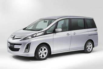 Mazda Biante в самой популярной среди японцев комплектации 20S.