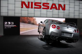 В рамках Московского моторшоу Nissan GT-R продемонстрировал прохождение трассы Нюрбургринг.