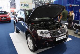 Обновленный Suzuki Grand Vitara может оборудоваться 3,2-литровым двигателем V6.