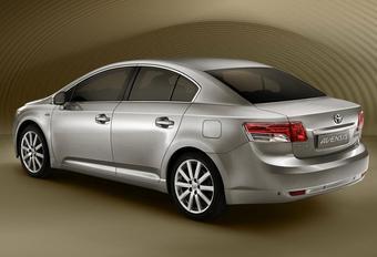 Toyota Avensis нового поколения. Будет представлен в октябре в Париже. Начало продаж в России — январь 2009 года.
