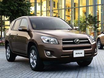 Компания Toyota обновила RAV4.