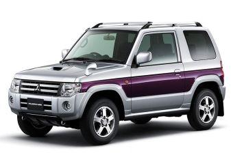 Обновленная версия Mitsubishi Pajero Mini появилась на японском рыке.
