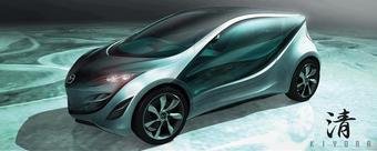 Концепт Mazda Kiyora будет представлен на моторшоу в Париже.