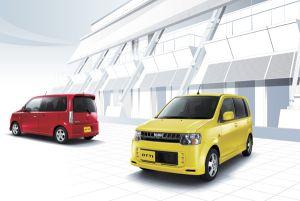 Nissan выпустил обновленный японский миникар Otti