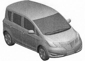Great Wall Feel Free — клон Toyota Ractis — был запатентован в Европе.