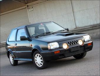Nissan собирается вновь оснащать модель Micra (европейский аналог японского March) турбиной и суперчаржером. На снимке представлена модель March Super Turbo 1989 года выпуска.