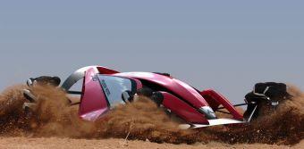 Концепт MMR525 Rally Racer покажет, как будут выглядеть раллийные автомобили марки Mitsubishi через пару десятилетий.