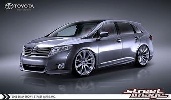 Toyota Venza от Street Image будет показана на тюнинг-шоу SEMA в Лас-Вегасе.