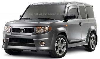 Обновленная версия Honda Element скоро поступит в продажу.