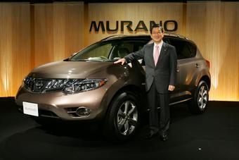 Nissan Murano нового поколения был представлен в Японии.