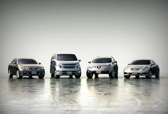 Автомобили, продаваемые под брендом Nissan Premium Factory. Скоро эту линейку дополнит Fairlady Z нового поколения.