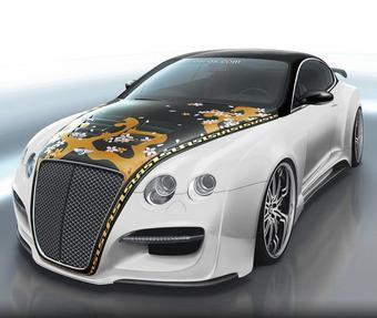 Bentley Continental Tetsu GTR от ASI станет главным экспонатом на стенде компании Toyo во время тюининг-шоу SEMA.
