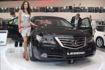 Legend. Обновленный флагман модельного ряда компании Honda. Российская премьера состоялась на Московском автосалоне 2008.