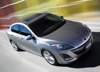 Седан Mazda3 нового поколения будет представлен в ноябре в Лос-Анджелесе.