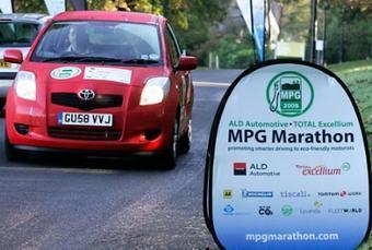 Дизельный Yaris стал победителем соревнований MPG Marathon 2008.