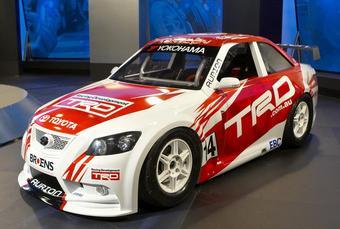 Этот необычный TRD Aurion будет принимать участие в гонках Aussie Racing Cars Series.