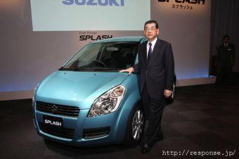 В Японии начались продажи европейского компакт-кара Suzuki Splash.